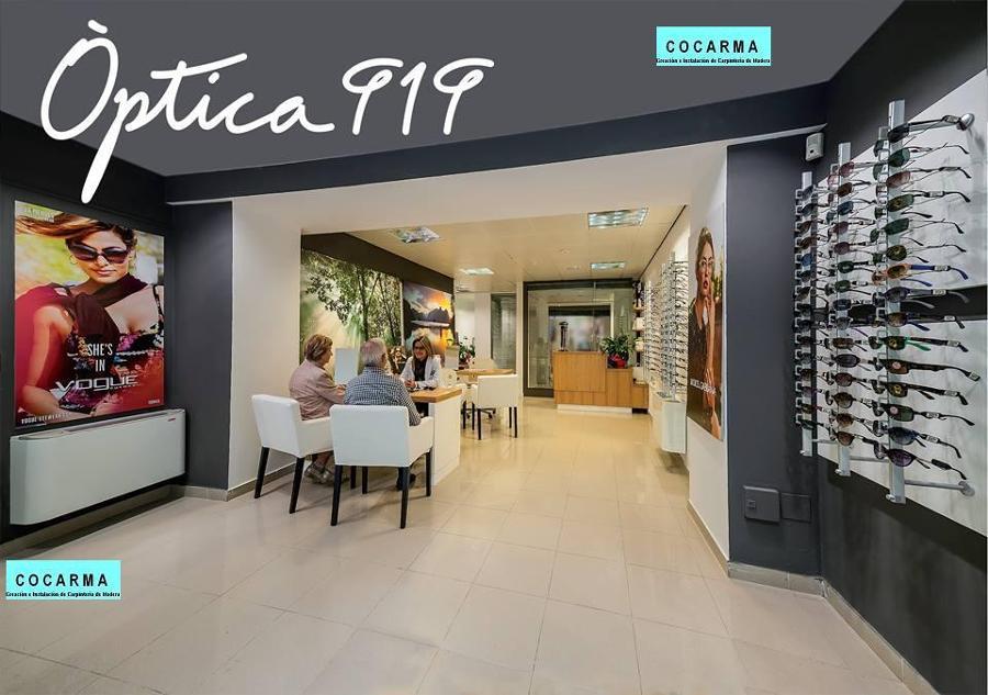 Foto: Optica Local Comercial de Cocarma-colocación-de-carpintería-de ...