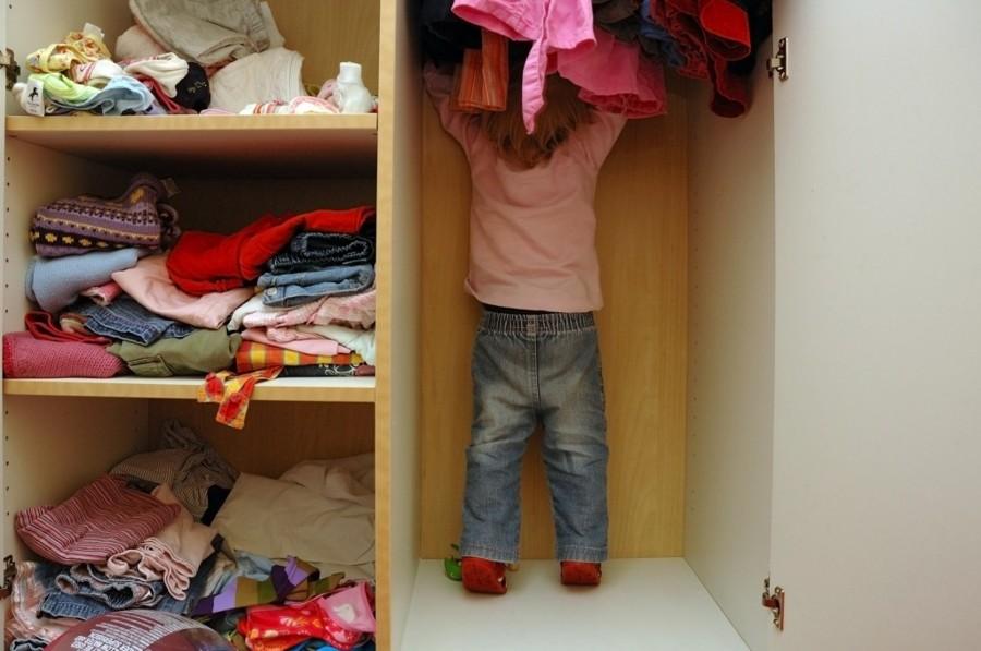 C mo ordenar el armario de los ni os ideas mantenimiento - Como ordenar un armario ...