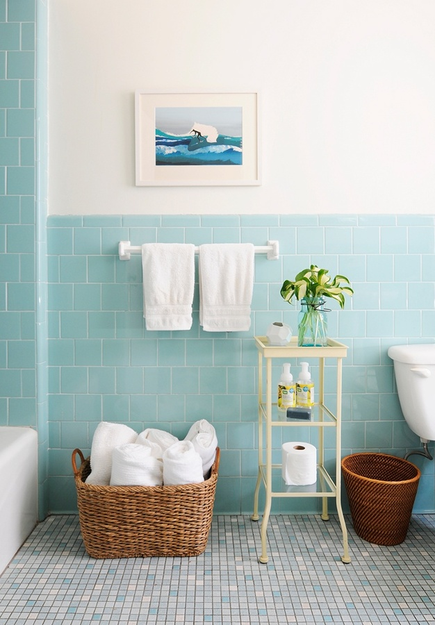 Azulejos Baño Azules:baño azulejos azules