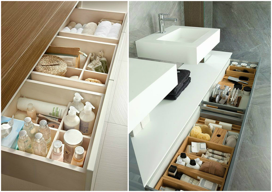 6 ideas para organizar tu ba o ideas decoradores for Como organizar el bano