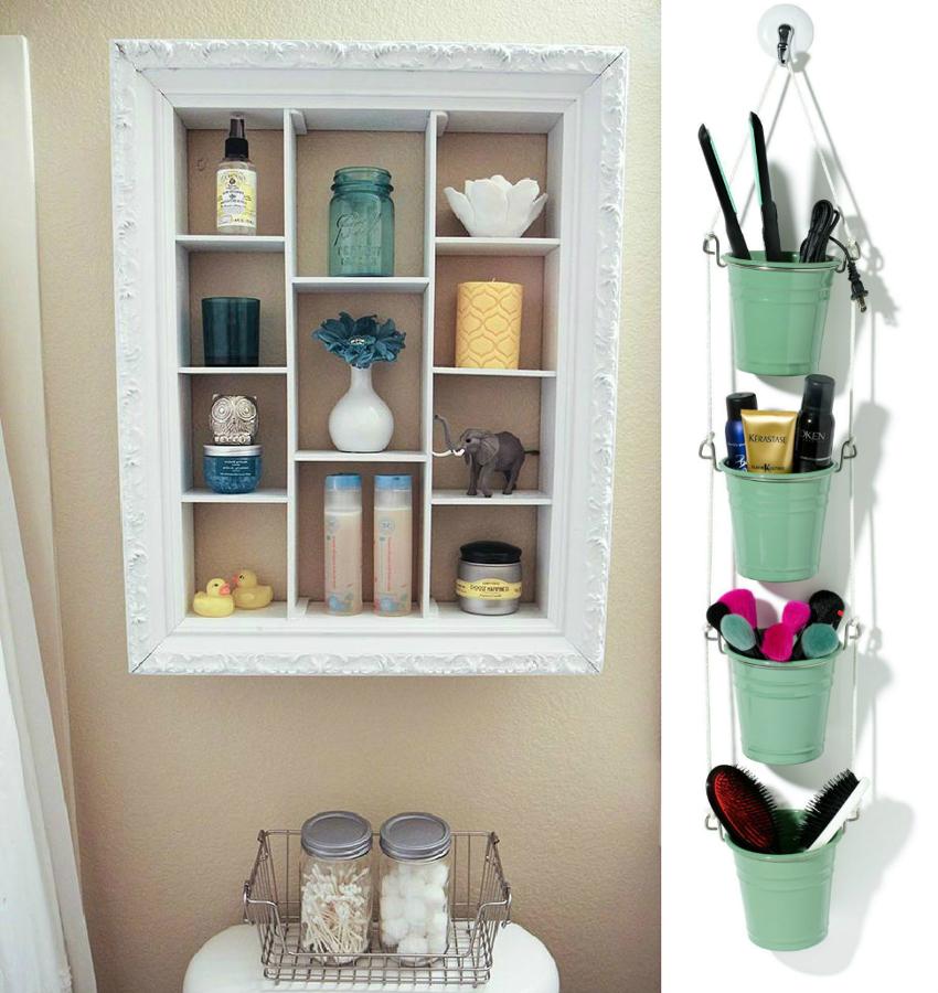 6 ideas para organizar tu ba o ideas decoradores for Organizador para bano