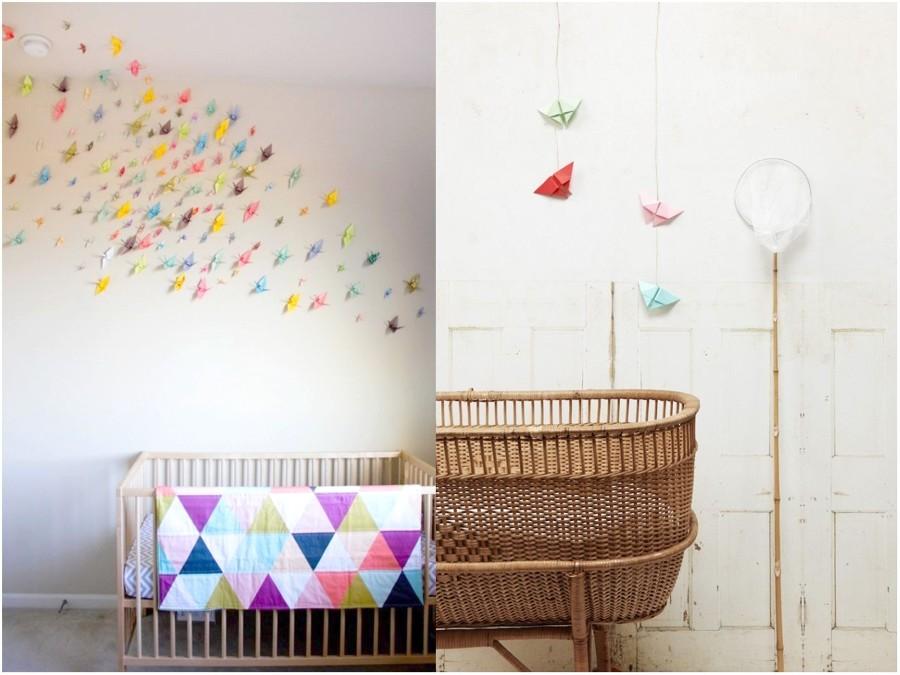 Descubre el arte del origami y todas sus posibilidades ideas decoradores - Habitaciones infantiles economicas ...