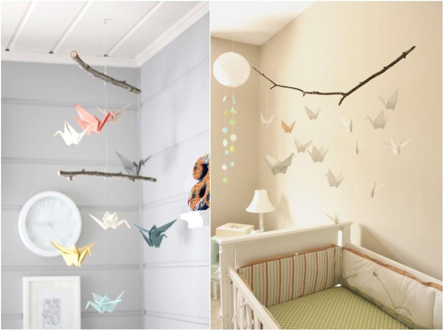 Descubre el arte del origami y todas sus posibilidades - Decoracion habitacion infantil nino ...