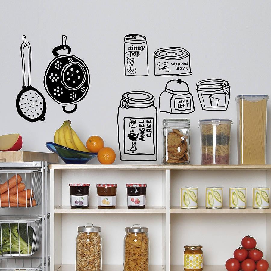 Cambia la apariencia de tus paredes con vinilos molones - Vinilo para la cocina ...