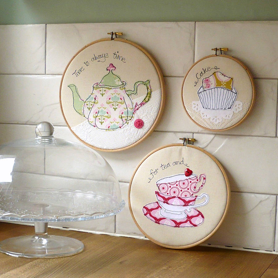 original_teatime-trio-of-embroidery-hoop-artwork