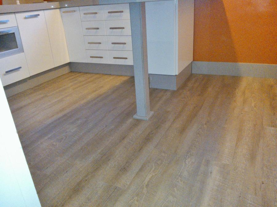 Instalaci n nuevo suelo en cocina sin obras ideas - Suelo de cocina sin obra ...