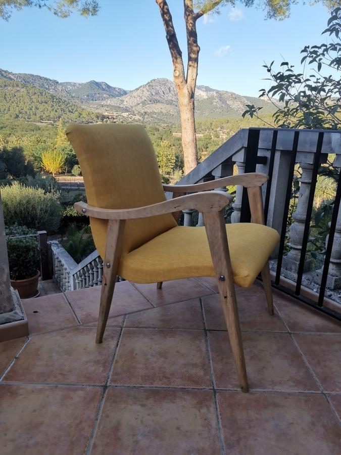 otro vista del sillon acabado