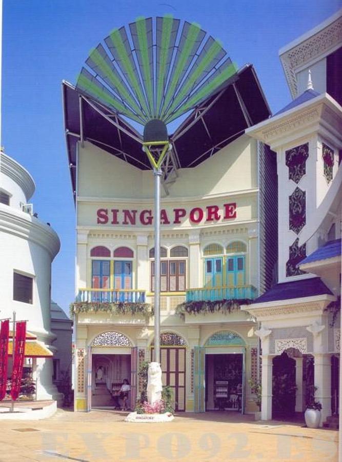 PABELLÓN DE SINGAPUR (Expo92)