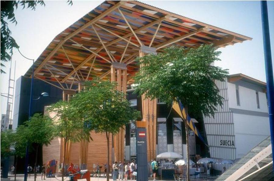PABELLÓN DE SUECIA (Expo92)