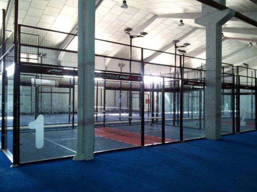 Padel indoor en leganes madrid ideas construcci n - Gimnasio espana industrial ...