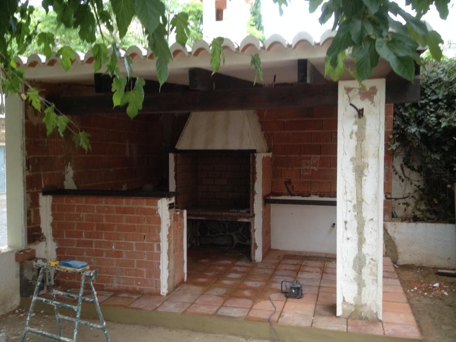Paellero techado ideas construcci n casas - Paelleros de obra modernos ...