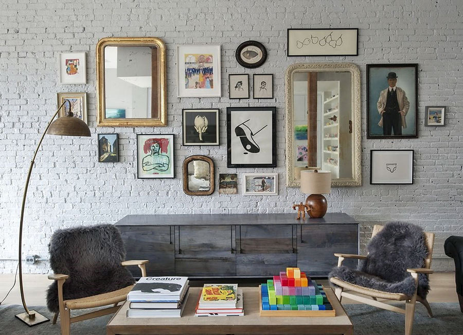 painted-brick-wall-interior-design-idea