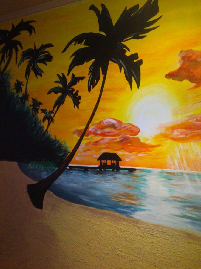 Foto paisaje mar timo con m s luz y m s relieve en la - Pinturas arenas granada ...