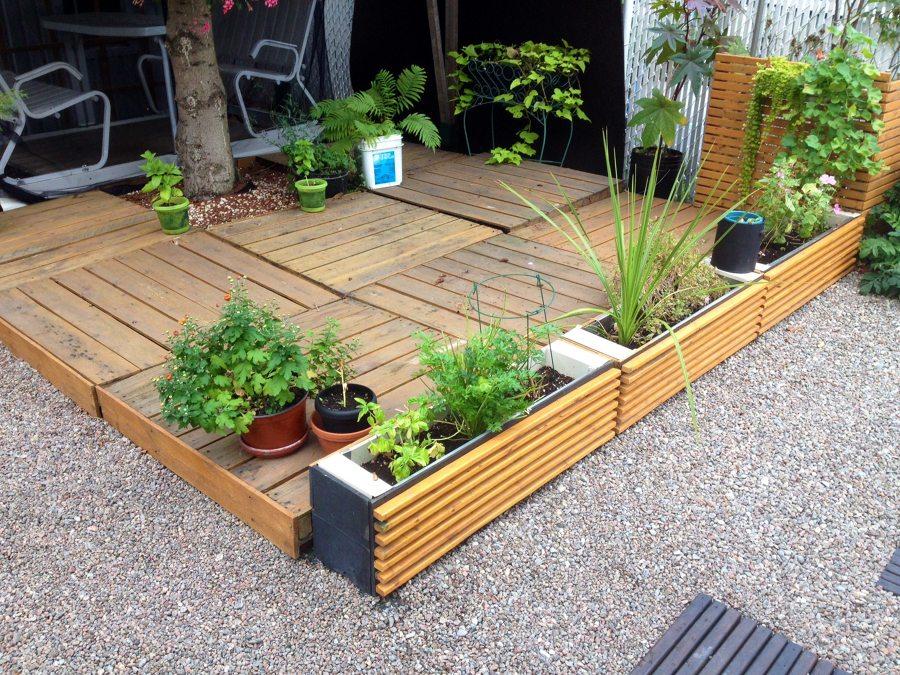 Eres fan de los palets mira todo lo que puedes hacer for Casetas de jardin con suelo