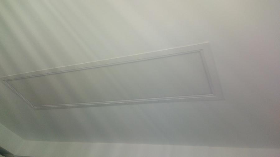 Panel empotrado 120x30 led