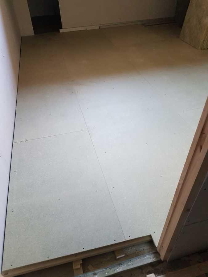 Panelado suelo