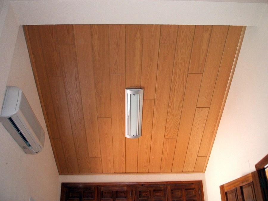 Foto paneles de madera en techo habitaci n de steffen - Habitacion de madera ...