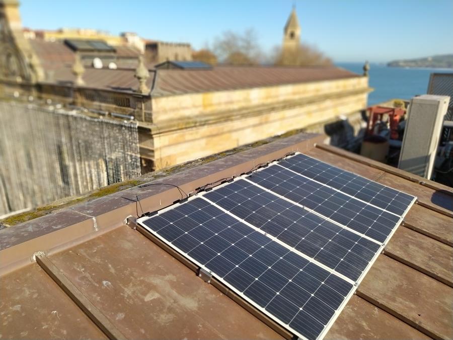 Paneles fotovoltaicos flexibles