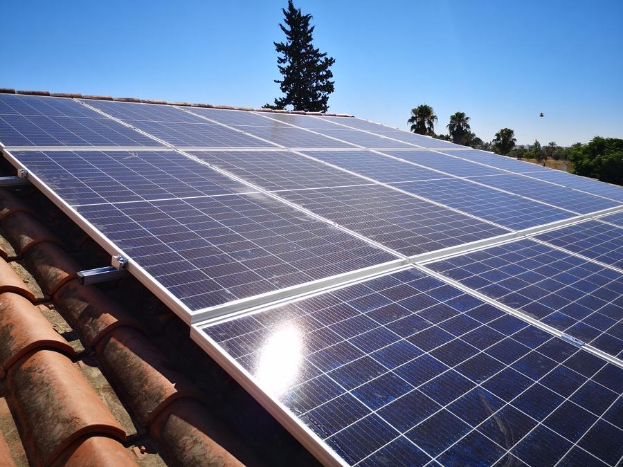 Paneles, instalación coplanar en tejado