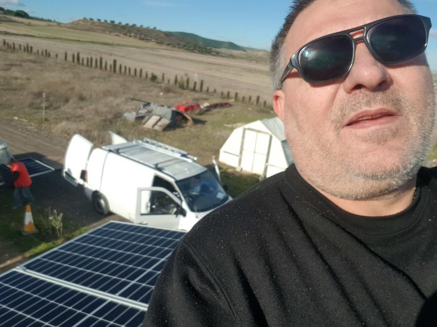 paneles solares 48v 450 w