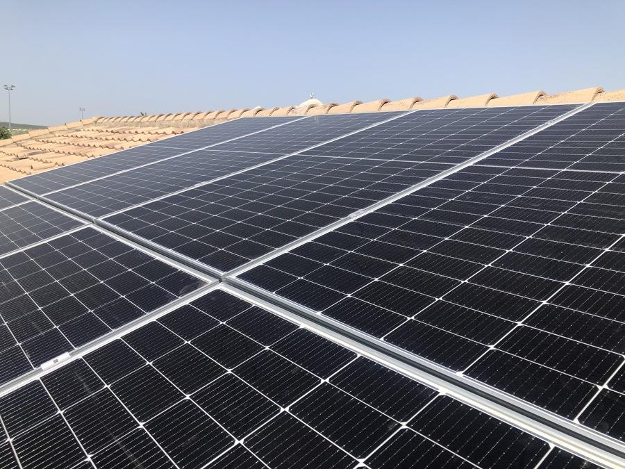 Paneles solares marca JA SOLAR