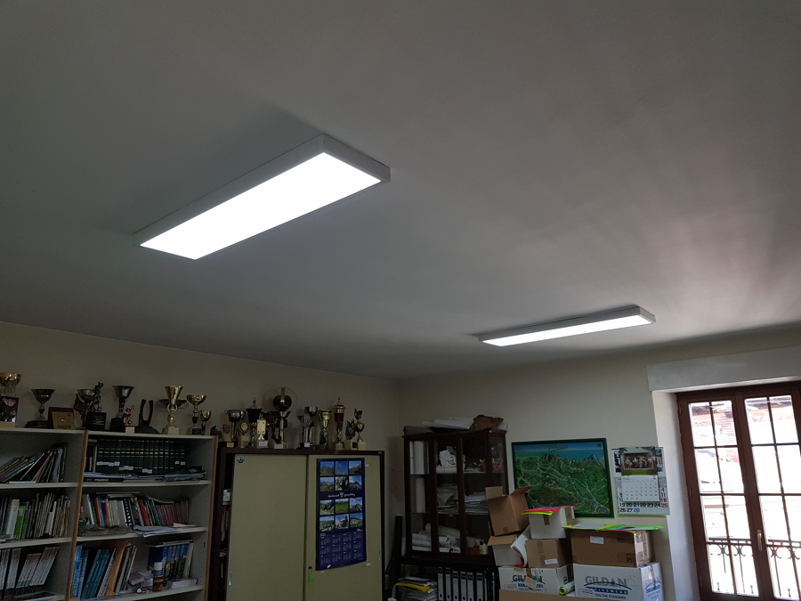 Paneles superficie LED