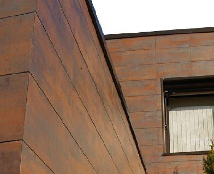 Paneles s ndwich para fachadas ideas reformas viviendas - Imitacion madera para fachadas ...