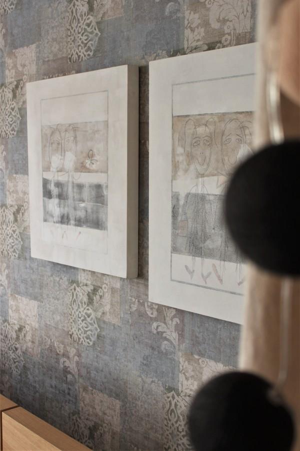 Papel de pared y cuadros