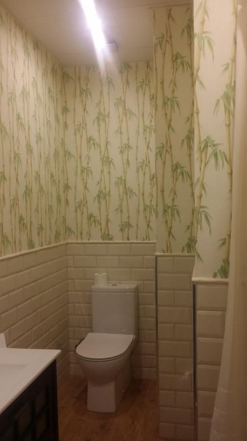 Papel decorativo especial baño