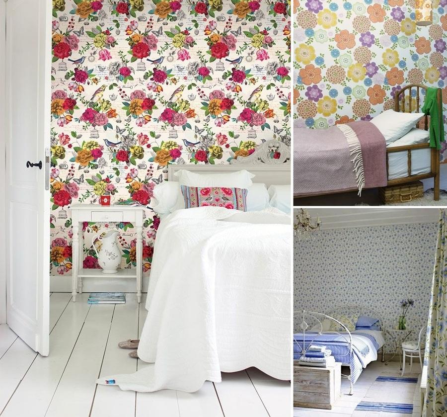 Foto papel pintado flores de miriam mart 840436 for Papel pintado coruna