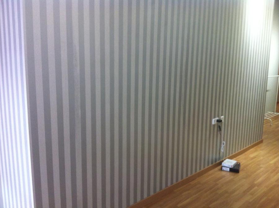 Papel pintado de rayas ideas pintores for Papel pintado economico