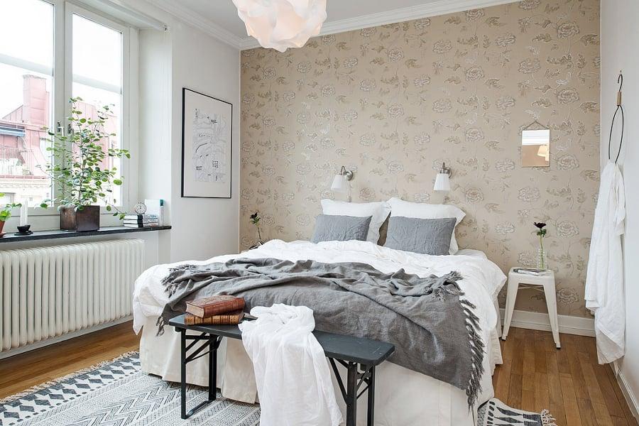 Papeles pintados para transformar tu vivienda ideas for Papel pintado dormitorio estilo nordico