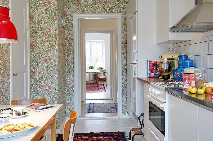 Foto papel pintado cocina de miriam mart 881578 for Papel pintado tenerife