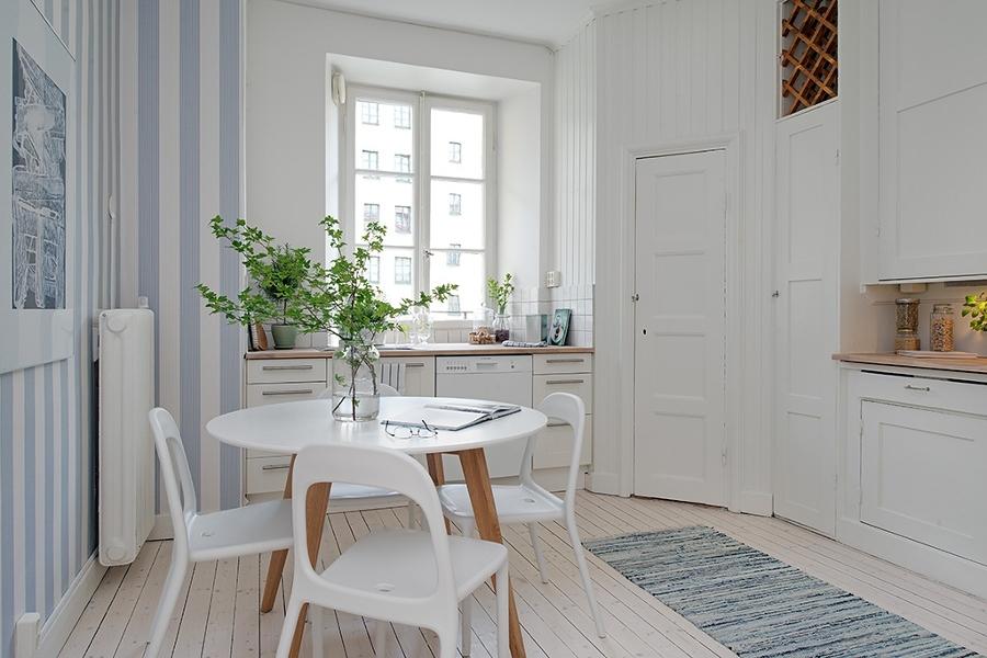 Foto papel pintado cocina de miriam mart 881592 for Papel pintado valladolid