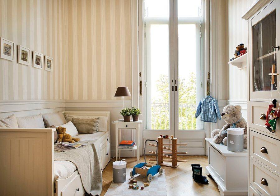Papel pintado cambia el look de tu dormitorio ideas - Papel pintado dormitorio moderno ...