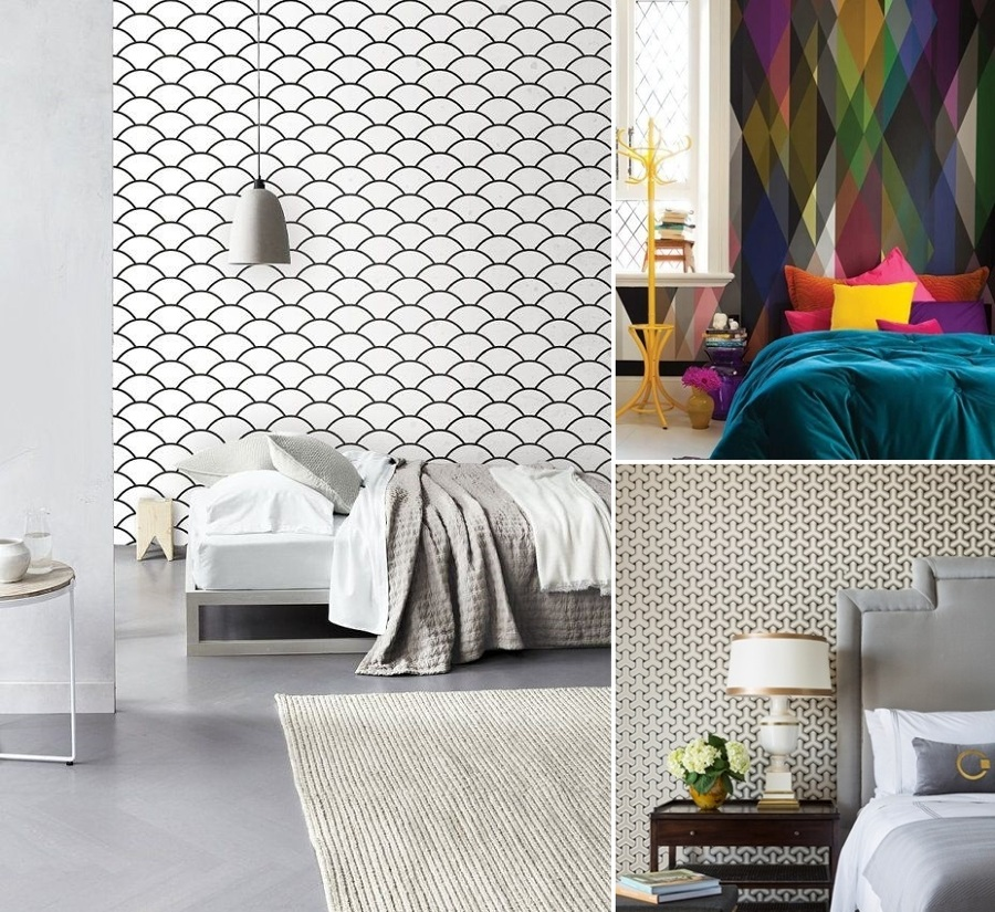 Papel pintado cambia el look de tu dormitorio ideas decoradores - Papeles para decorar ...