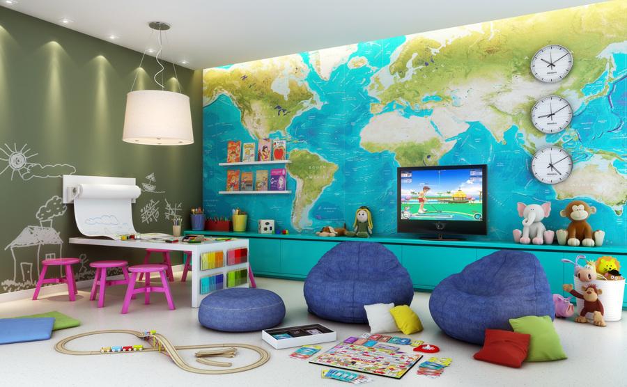 papel pintado habitacion infantil
