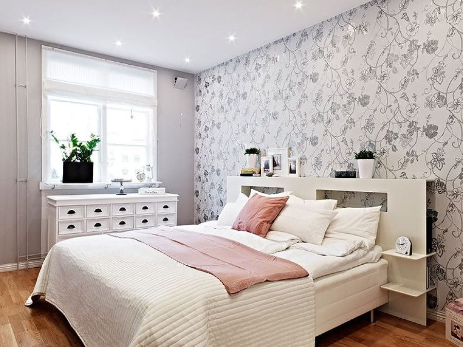 foto papel pintado habitaci n de elenatorrente d az 772623 habitissimo. Black Bedroom Furniture Sets. Home Design Ideas