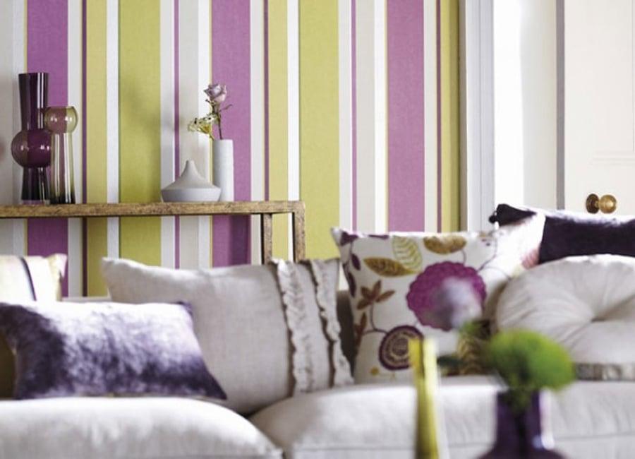 Papeles pintados para transformar tu vivienda ideas for Casas de papel pintado