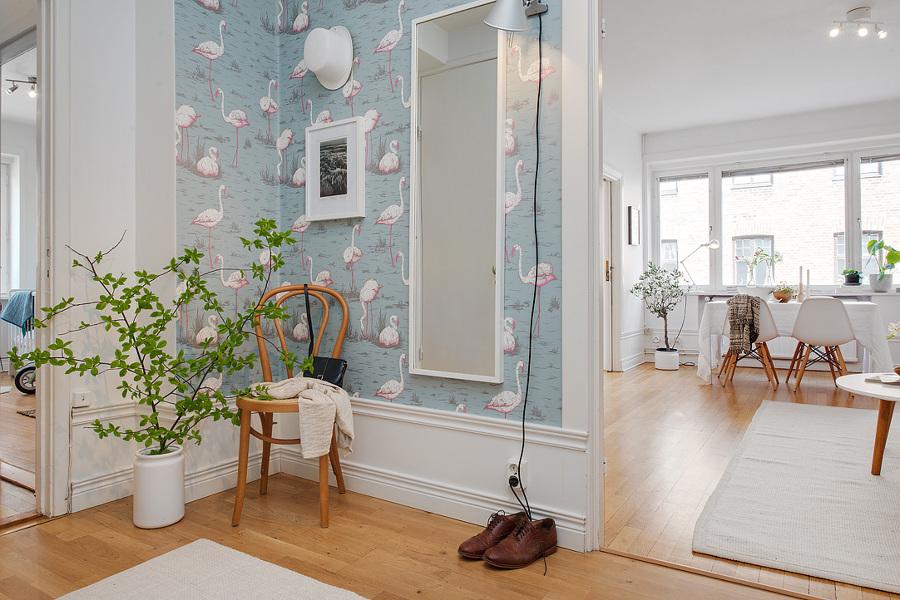 Papeles pintados para transformar tu vivienda ideas decoradores - Papel pintado para recibidores ...