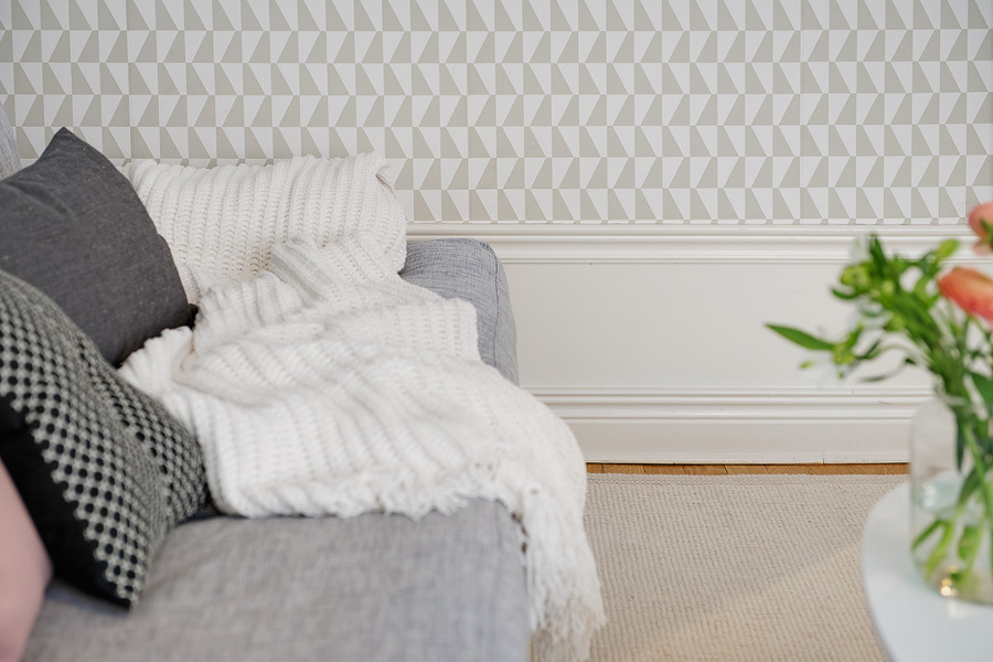 Papeles pintados para transformar tu vivienda ideas - Papel pintado minimalista ...