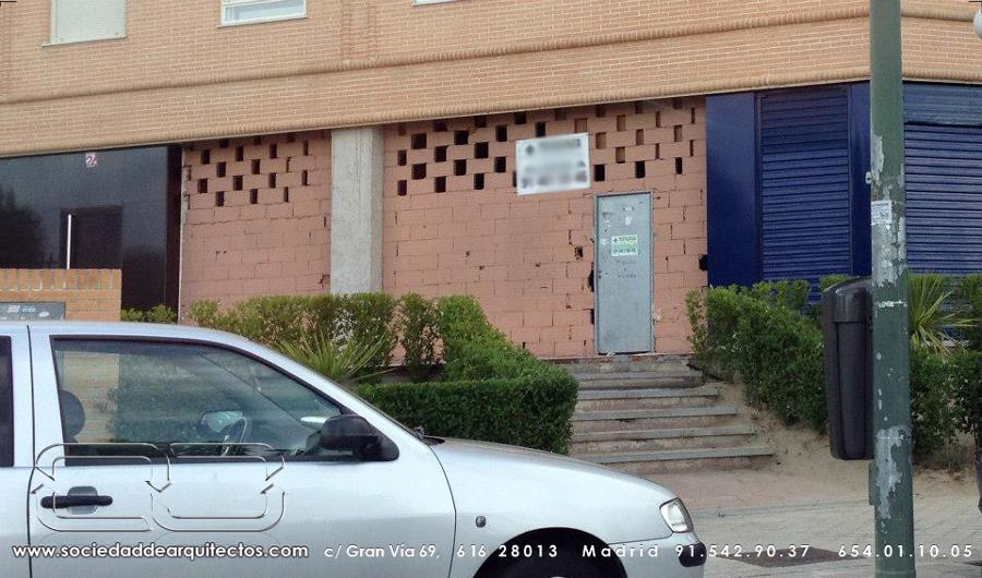 Foto papeleria rayuela local en bruto de sociedad de - Sociedad de arquitectos ...