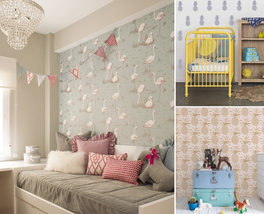 Papel Pintado: Cambia el Look de Tu Dormitorio | Ideas Decoradores