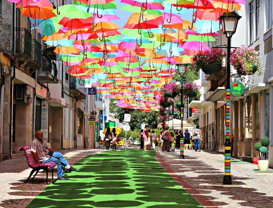 paraguas para el verano