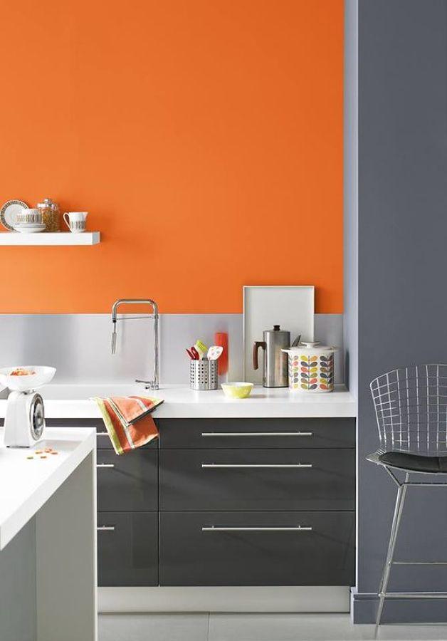 8 reglas para usar los colores en tu cocina ideas pintores - Cocina de color ...