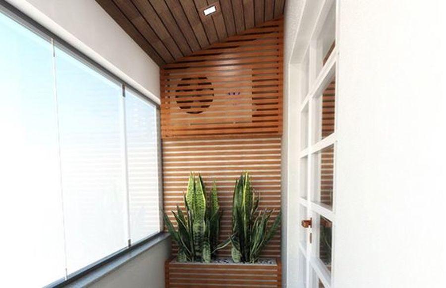 5 soluciones para integrar los aparatos de tu balc n en la for Ideas para cubrir paredes