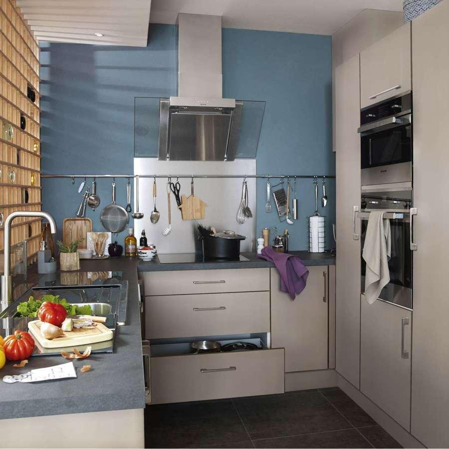 8 reglas para usar los colores en tu cocina ideas pintores - Plan de travail castorama sur mesure ...