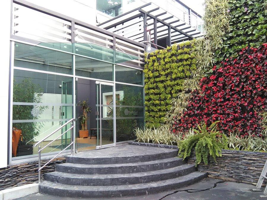 pared jardín