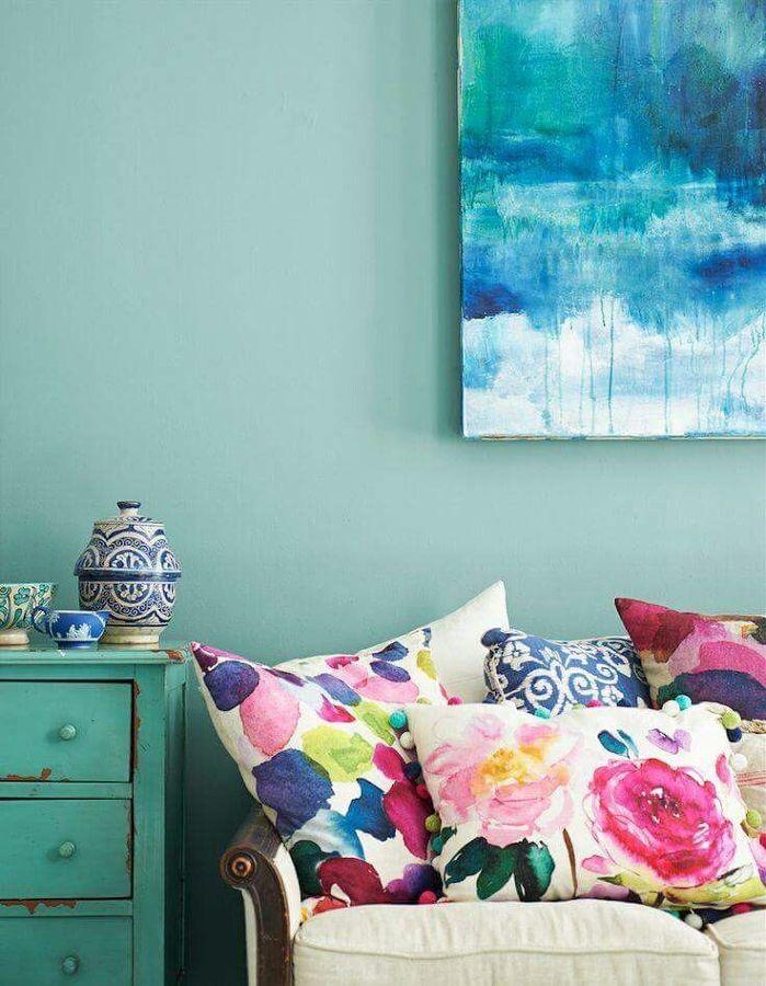 Trae la calma a tu hogar decorando en azul y verde agua for Color aguamarina
