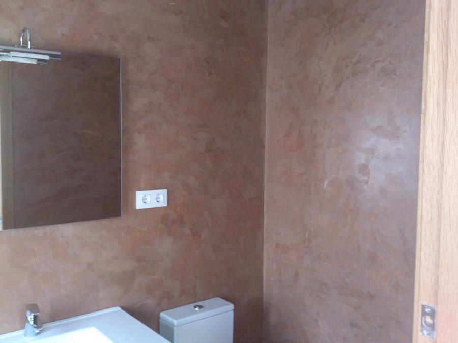 Foto paredes en microcemento de nb obras y servicios - Microcemento en paredes ...